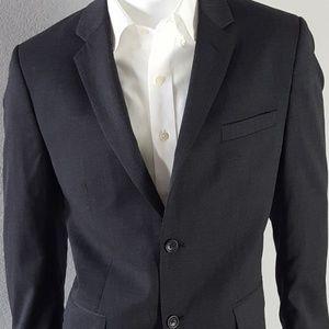 Banana Republic Tailored Slim Fit Gray Blazer 44R